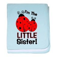 I'm The LITTLE Sister! Ladybu baby blanket