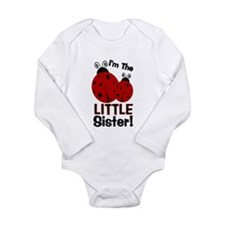 I'm The LITTLE Sister! Ladybu Long Sleeve Infant B
