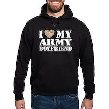 I Love My Army Boyfriend Hoodie