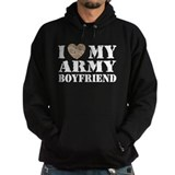 I Love My Army Boyfriend Hoody