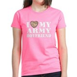 I Love My Army Boyfriend Tee
