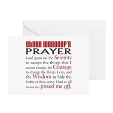 Stage Manager's Prayer Greeting Cards (Pk of 10)
