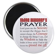 "Stage Manager's Prayer 2.25"" Magnet (100 pack)"