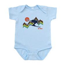 Ski Utah Infant Bodysuit