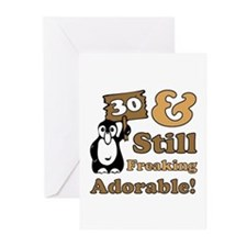 Adorable 30th Birthday Greeting Cards (Pk of 10)