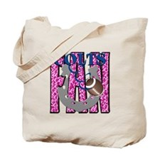 Colts Fan1 Pink Tote Bag