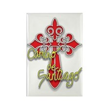 Camino De Santiago Rectangle Magnet (100 pack)
