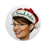 Sarah Palin 2 Ornament (Round)