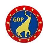 GOP Ornament (Round)