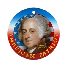 AP - John Adams Ornament (Round)