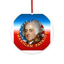 AP - John Adams Ornament (Round)
