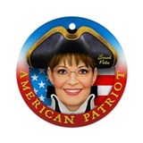 AP - Sarah Palin Ornament (Round)