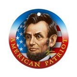 AP - Abraham Lincoln Ornament (Round)