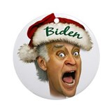 Joe Biden Ornament (Round)