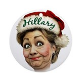 Hillary Clinton Ornament (Round)