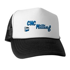 CNC Milling Machine Trucker Hat