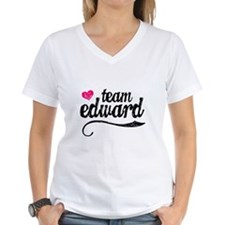 Team Edward Women's V-Neck T-Shirt