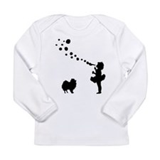 Pomeranian Long Sleeve Infant T-Shirt