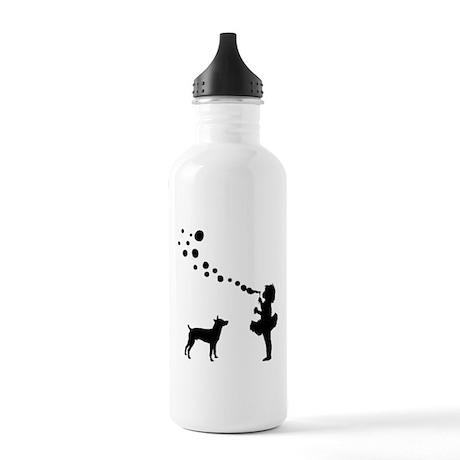 Rat Terrier Stainless Water Bottle 1.0L