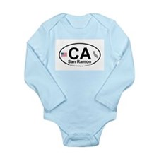 San Ramon Long Sleeve Infant Bodysuit