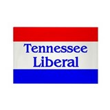 Tennessee Liberal Rectangle Magnet
