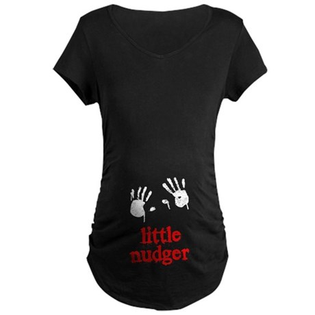 Little Nudger Maternity Dark T-Shirt