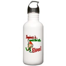 Happiness is an Elf Water Bottle