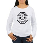 Dharma Luck Faded Women's Long Sleeve T-Shirt