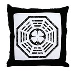 Dharma Luck Faded Throw Pillow