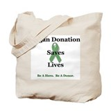 Organ Donation Tote Bag