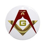 Shriners (Fancy) with S&C Ornament (Round)