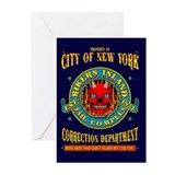 RIKERS ISLAND Greeting Cards (Pk of 10)