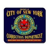 RIKERS ISLAND Mousepad