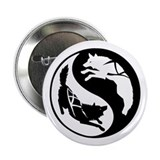 "Yin-Yang Huskies 2.25"" Button (100 pack)"