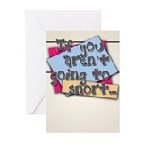 Snort Greeting Cards (Pk of 20)