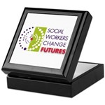Social Workers Change Futures Keepsake Box