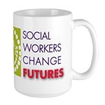 Social Workers Change Futures Large Mug