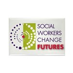 SWers Change Futures Rectangle Magnet (100 pack)