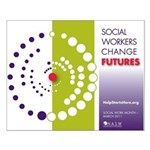 Social Workers Change Futures Small Poster