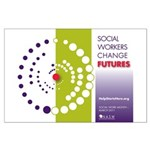 Social Workers Change Futures Large Poster