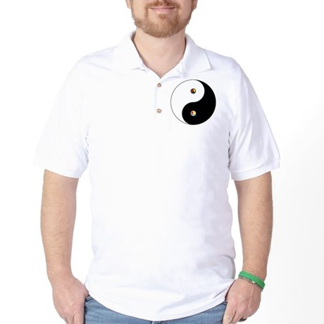 Peace Sign Dao Golf Shirt