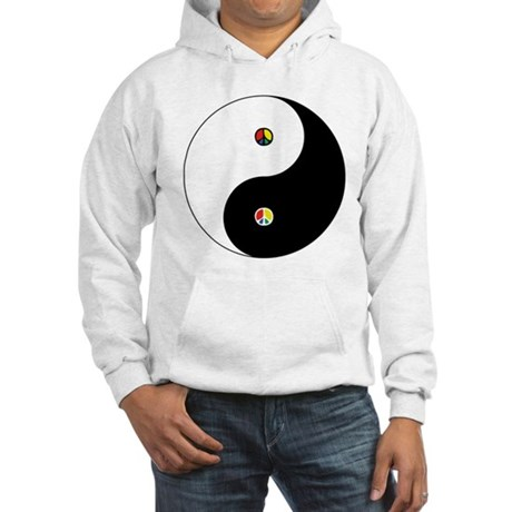 Peace Sign Dao Men's Hooded Sweatshirt