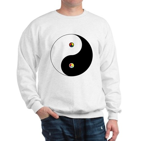 Peace Sign Dao Men's Sweatshirt