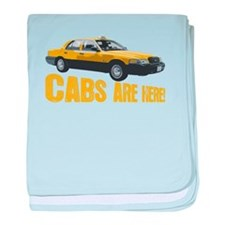 CABS ARE HERE! baby blanket