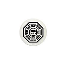 Dharma Van Mini Button
