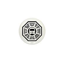 Dharma Van Mini Button