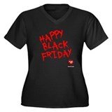 FEARnet Black Friday Women's Plus V-Neck