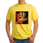 Lady (S) - Cairn Terrier 4 Yellow T-Shirt
