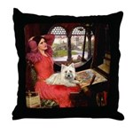 Lady (S) - Cairn Terrier 4 Throw Pillow