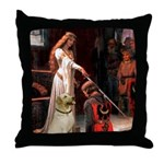 Accolade / Lab (Y-6) Throw Pillow